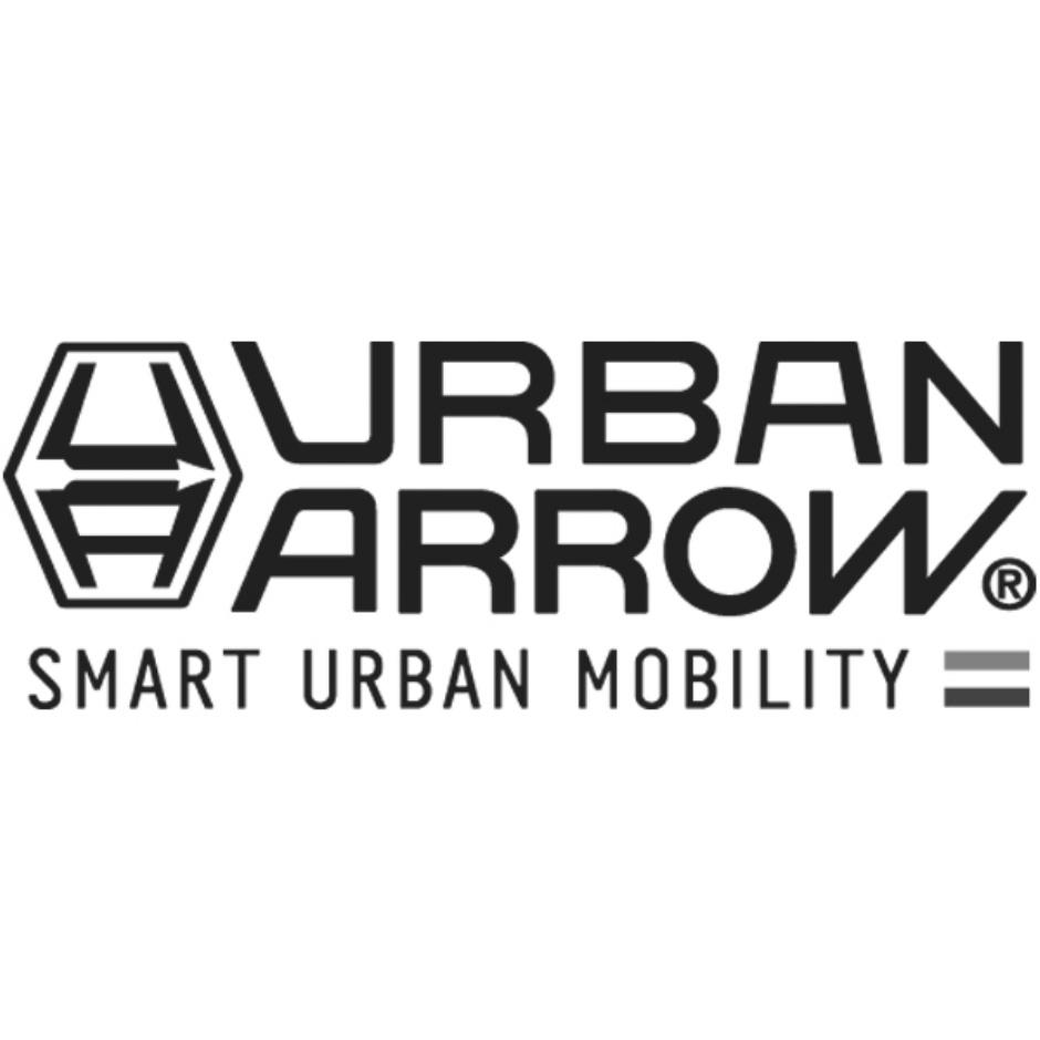 Urban Arrow Family weiss Regenverdeck