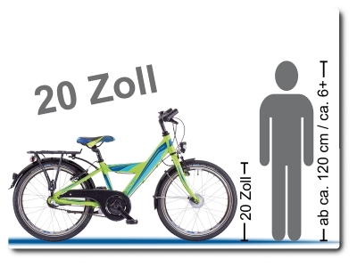 20 Zoll Kinderräder