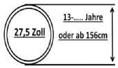 27,5 Zoll ATB Jugendräder