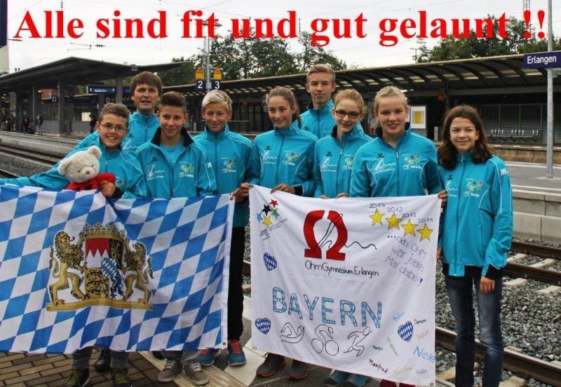 Ohm Gymnasium Erlangen wird souverän Bundessieger
