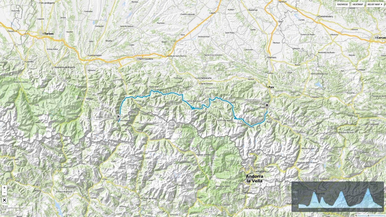 Pyrenäen-Tour