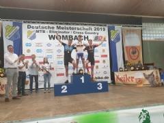 Lennart Krayer wird Deutscher Meister 2019 im Mountainbike der Junioren