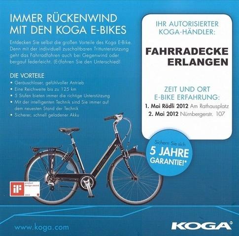 Koga E-Bike Roadshow