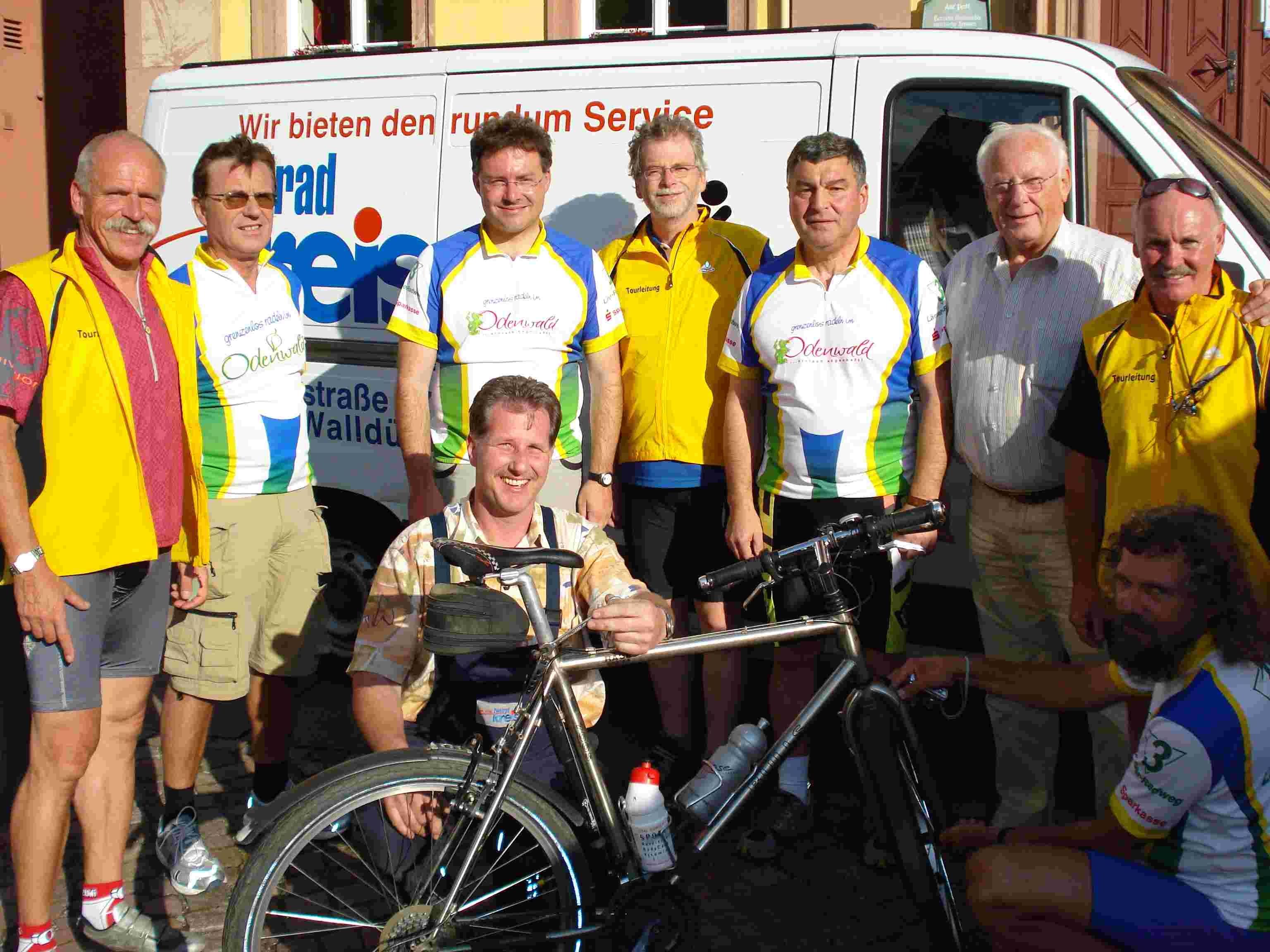 3-Länder-Radtour 2008