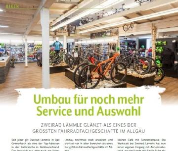 Umbau für noch mehr Service und Auswahl