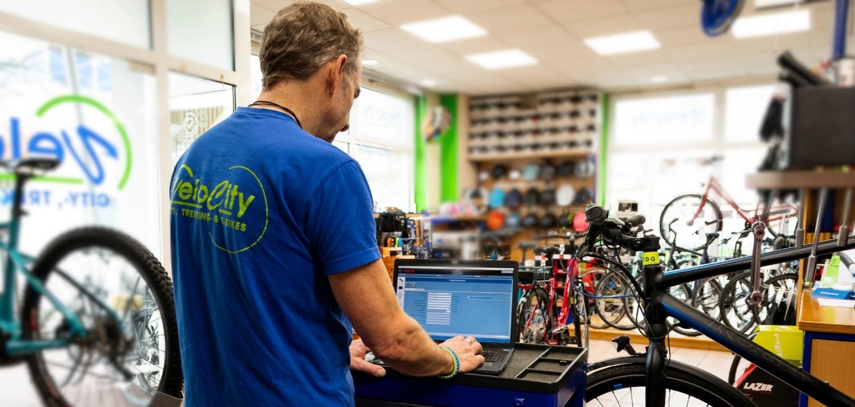 E-Bike-Werkstatt