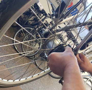 Fahrradwerkstatt in Meisterhand