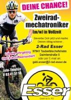 Zweiradmechatronikerin/Zweiradmechatroniker in Vollzeit