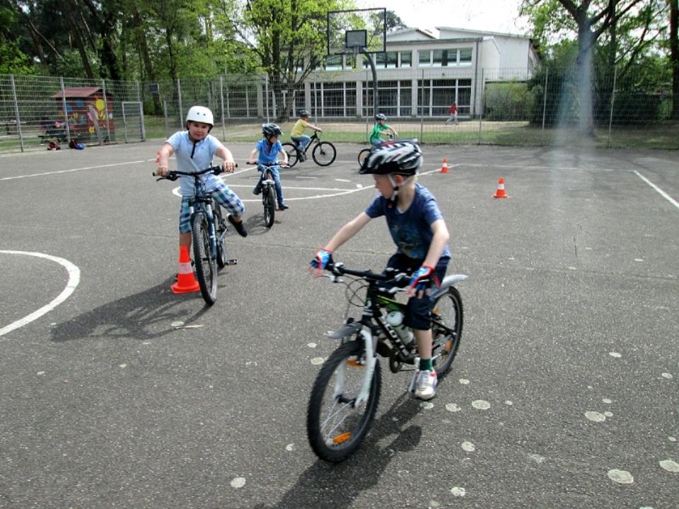 Fahrrad AG Pfingstbergschule Mannheim
