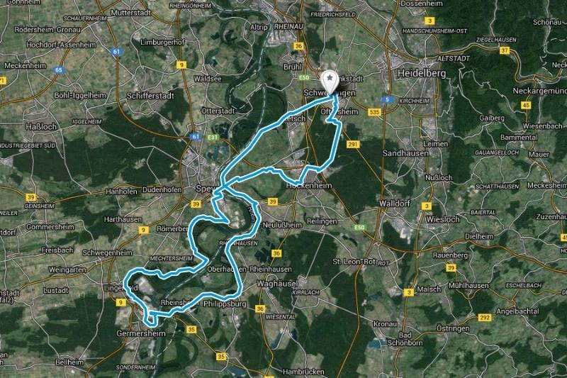 "RTF Permanente ""Rhein nuff Rhein runner"""