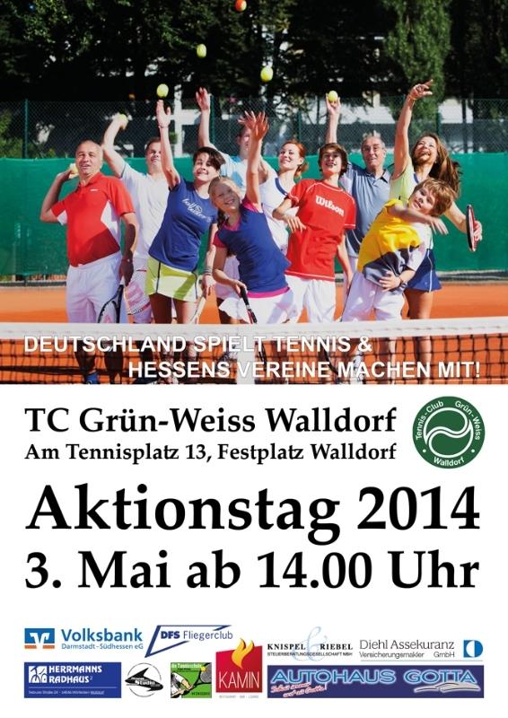 AKTIONSTAG TC-Grün-Weiss Walldorf