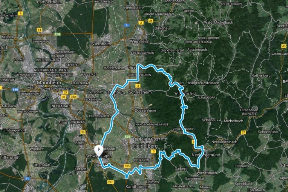 """RTF Permanente """"Schwetzingen - Odenwald"""""""