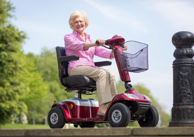 Senioren Scooter aus der Fahrradbörse !