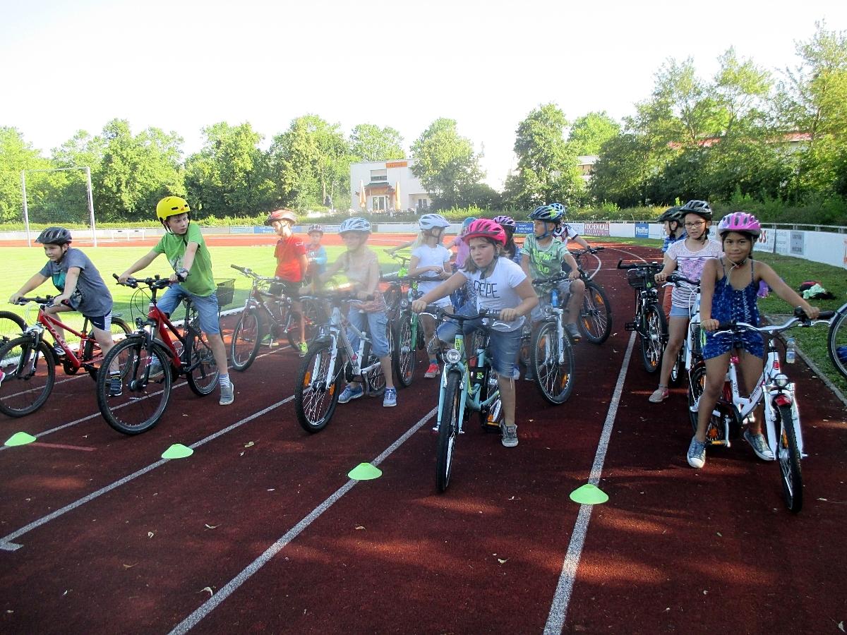 Fahrrad AG Südstadtschule Schwetzingen