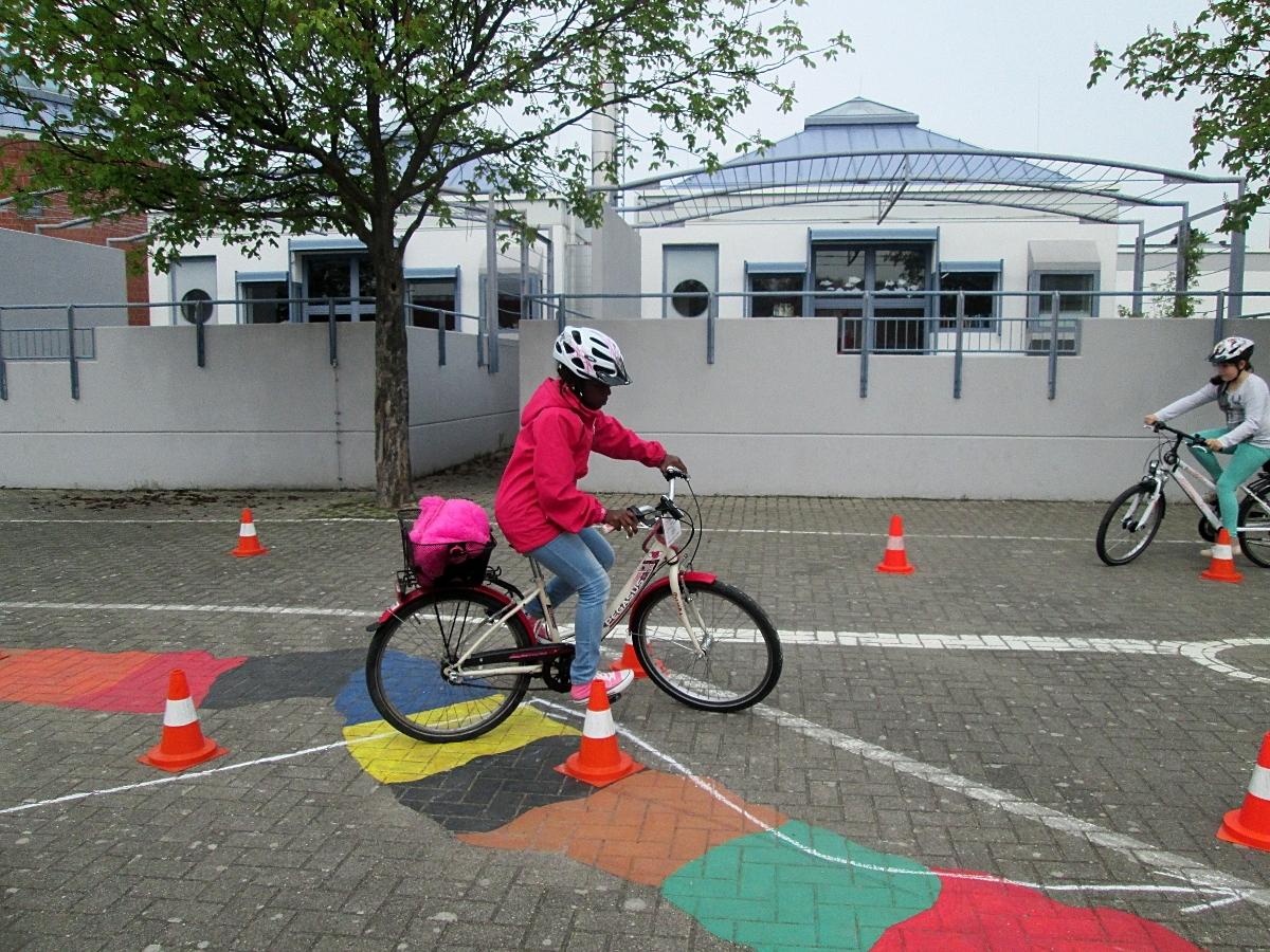 Fahrrad AG Hirschackerschule Schwetzingen