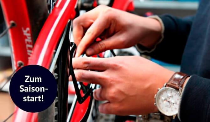Hol Dir einen Servicetermin für Dein Rad!
