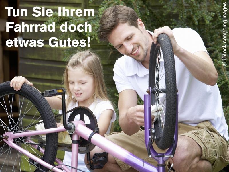 Fahrrad-Pflege