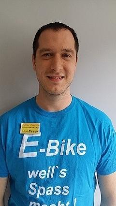E-Bike und Fahrrad Fachverkäufer Walter Teutsch