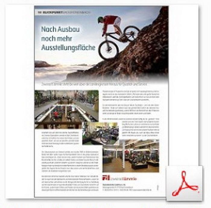 Unternehmensportrait Zweirad Lämmle