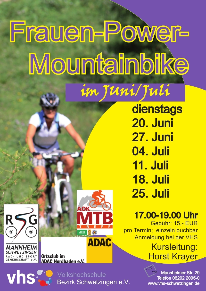 Frauen Power MTB