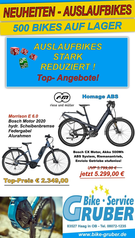 Bike + E - Bike Weekend 2018