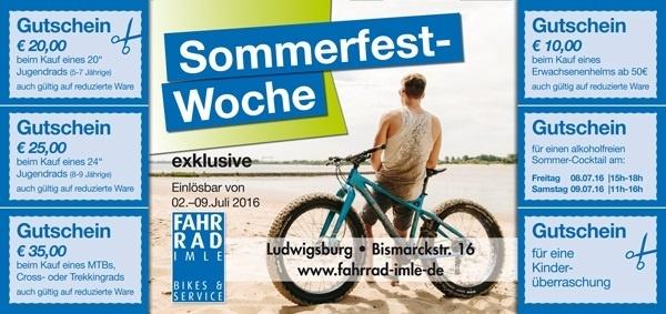 Sommerfest 04.-09.07.16 Fahrrad Imle Ludwigsburg