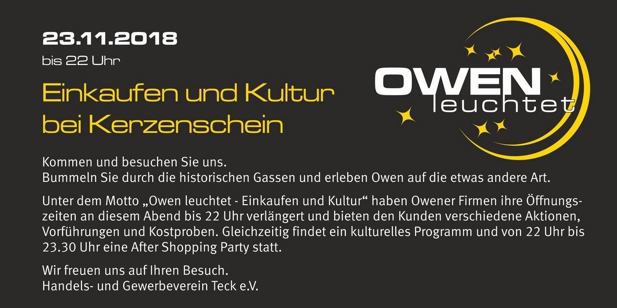Owen leuchtet 2018