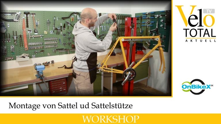 Film: VeloTotal 8: Sattel und Sattelstütze
