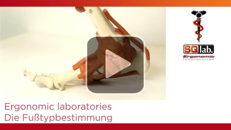 Film: SQlab - Fusstyp Bestimmung