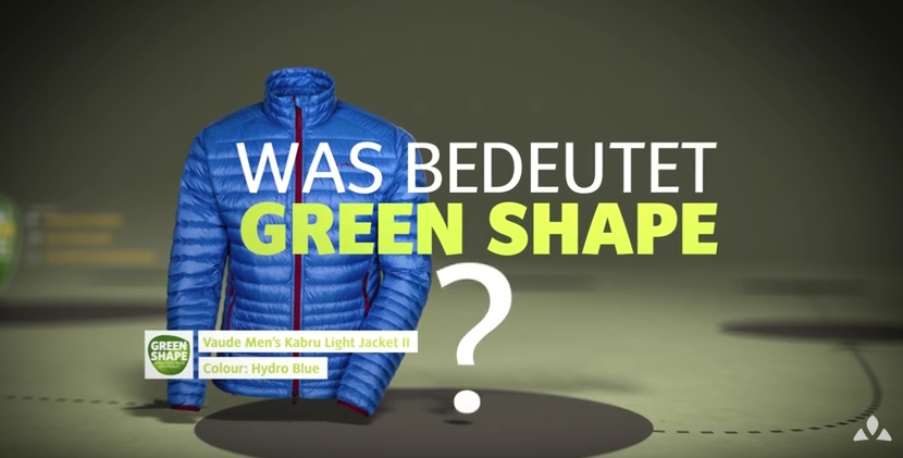 Film: VAUDE - Produktphilosophie Green Shape