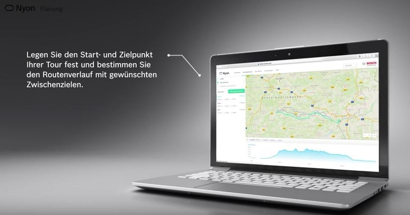 Bosch Nyon eBike Bordcomputer - Planung