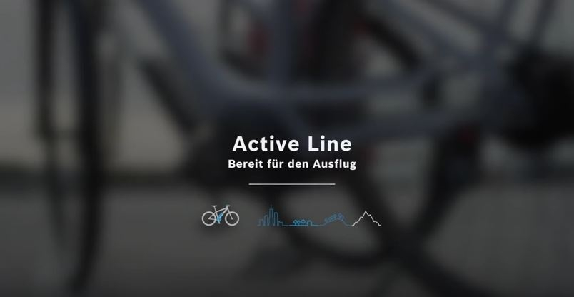 Bosch Active Line mit Intuvia
