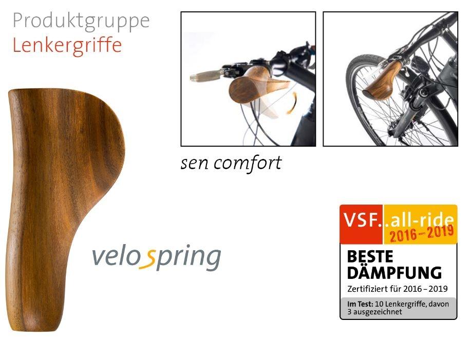 Film: velospring - sen comfort Lenkergriff