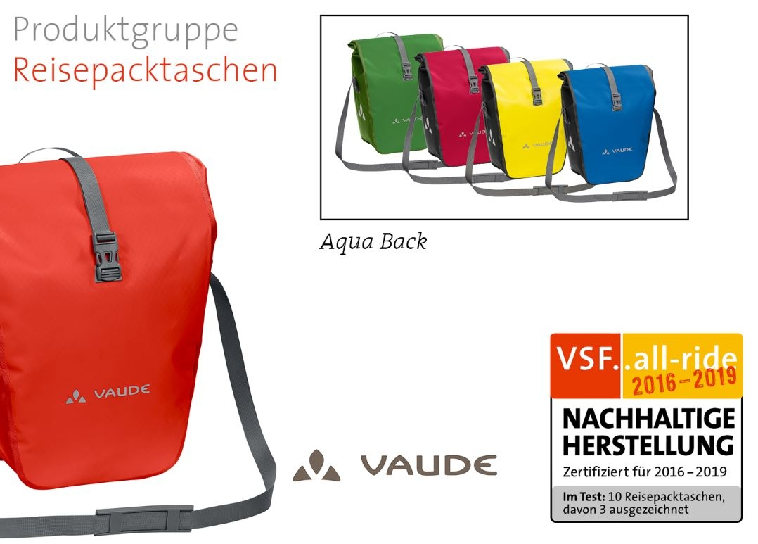 Film: VAUDE - Aqua Back