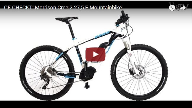 Film: Morrison Cree 2 27,5 E-Mountainbike Ge-Checkt