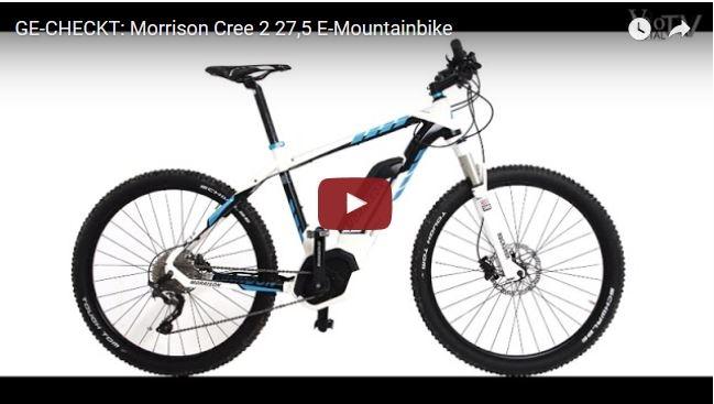 Film: Morrison Cree 2 27,5 E-Mountainbike Ge-Checkt