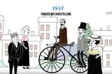 Die Geschichte des Fahrrads in 2 Minuten