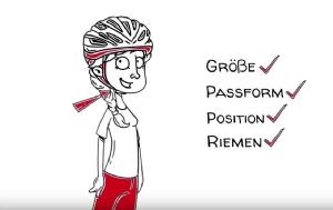 Film: Abus - Wie trage ich meinen Fahrradhelm richtig?