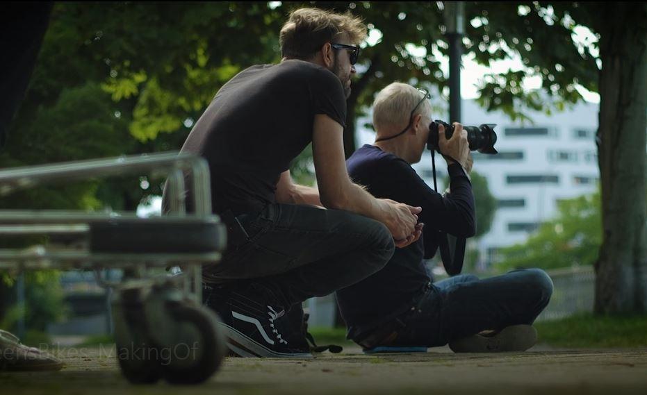 Film: Green´s - Making of Fotoshooting 2018