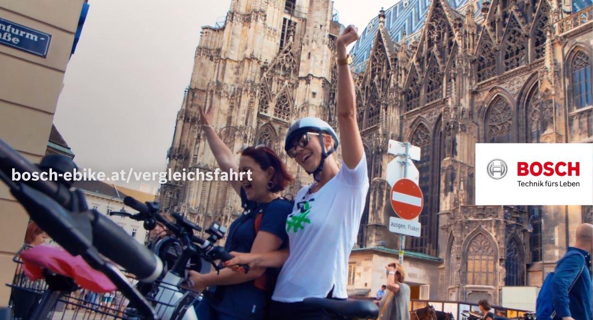 Bosch - Vergleichsfahrt in der Wiener Rush Hour