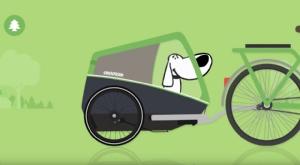 Film: Croozer - Den Hund an den Anhänger gewöhnen