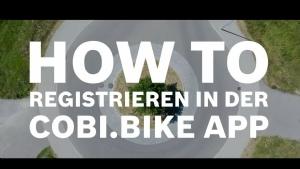 Film: BOSCH - Registrieren in der COBI.Bike App