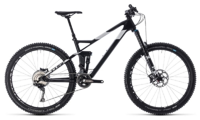 Mountainbike-Angebot Cube Stereo 140 HPC SL 27.5 carbon´n´white