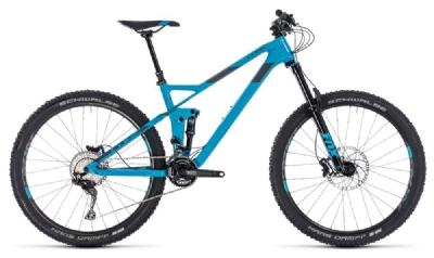Mountainbike-Angebot CubeStereo 140 HPC Race 27.5 blue´n´grey