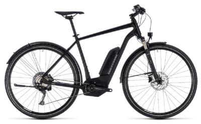 E-Bike-Angebot CubeCross Hybrid Race Allroad 500 black n white