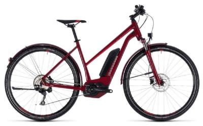E-Bike-Angebot CubeCross Hybrid Pro Allroad 500 darkred n red