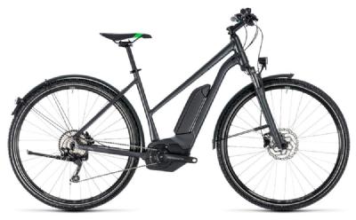 E-Bike-Angebot CubeCross Hybrid Pro Allroad 500 grey n flashgreen