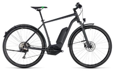 E-Bike-Angebot CubeCross Hybrid Pro Allroad 500 grey´n´flashgreen