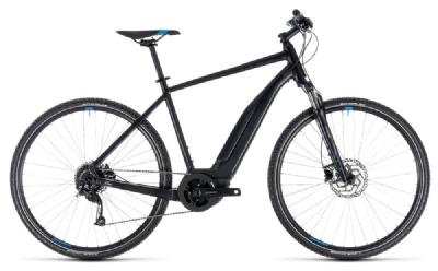 E-Bike-Angebot CubeCross Hybrid ONE 500 black´n´blue 2018