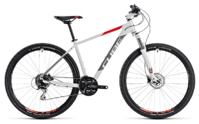 Mountainbike-Angebot CubeAim Race white´n´red
